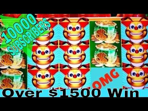 connectYoutube - ★MASSIVE WIN★ Lucky Honeycomb Twin Fever Slot ★MEGA BIG WIN★ FROM $200.00 TO Over HANDPAY JACKPOT !