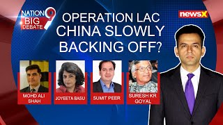 Operation LAC: China slowly backing off? | NewsX - NEWSXLIVE