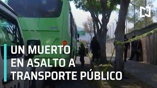 Muere vendedor de dulces tras asalto a transporte público en la GAM - Las Noticias