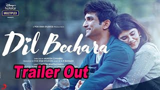 Sushant Singh Rajput last film 'Dil Bechara' trailer out - BOLLYWOODCOUNTRY