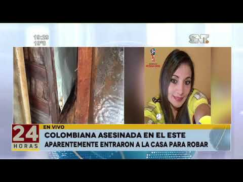 Colombiana asesinada en el Este
