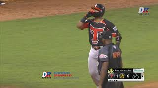 Homerun Hamlet Marte (TE) vs Aguilas Cibaeñas | 16 ENE 2020 | Serie Semifinal Lidom