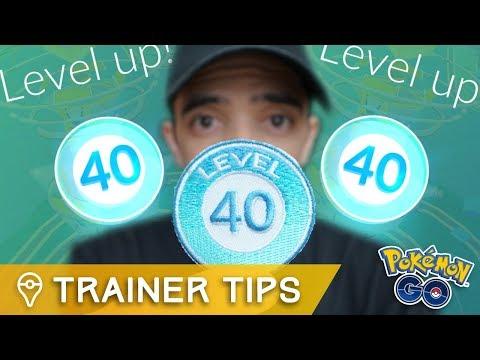 connectYoutube - I finally hit Level 40 in Pokémon GO...