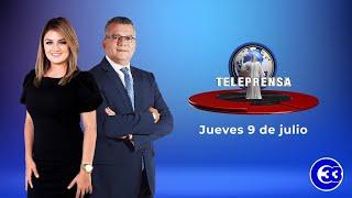 #TeleprensaMediodía   Jueves 9 de julio de 2020