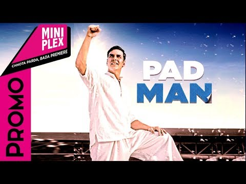 connectYoutube - Radhika Apte Promote's Padman On Miniplex | Akshay Kumar | Sonam Kapoor - Latest Hindi Movie