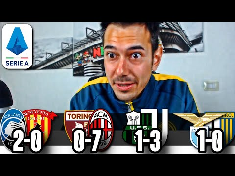 CORSA CHAMPIONS: Atalanta-Benevento, Torino-Milan, Sassuolo-Juve & Lazio-Parma