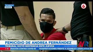 Tribunal confirma pena de 35 años de cárcel para el asesino de Andrea Fernández