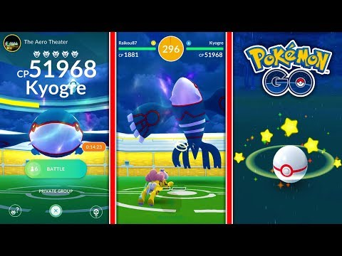 connectYoutube - BEST COUNTERS + HOW TO CATCH KYOGRE IN POKEMON GO! LEGENDARY KYOGRE RAID GUIDE!