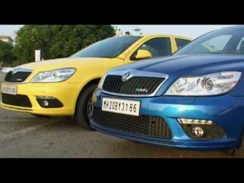 SKODA Laura RS Road Test