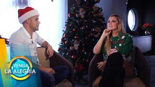 Marjorie de Sousa platica cómo grabó 'Mi Burrito Sabanero' con Matías. | Venga La Alegría