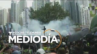 Hong Kong recibe el 2020 con multitudinarias protestas y enfrentamientos con la policía