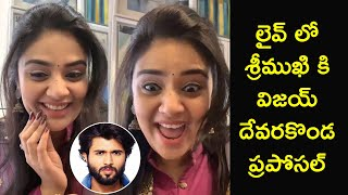 Sreemukhi Live Chit Chat With Fan's | Sreemukhi React To Vijay Proposal | Rajshri Telugu - RAJSHRITELUGU