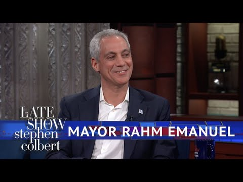 connectYoutube - Mayor Rahm Emanuel: Chicago Is A 'Trump-Free Zone'