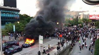 Saqueos, incendios y enfrentamientos en todo EEUU en protestas por el racismo policial