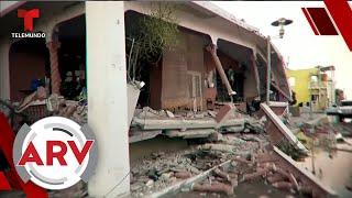 Puerto Rico despertó con fuerte terremoto de 6.4 grados   Al Rojo Vivo   Telemundo