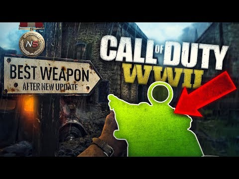 The Best Weapon in Call of Duty:WW2 After New Update!