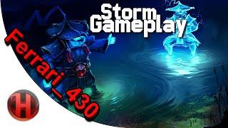 iG.Ferrari_430 7165 MMR Storm Spirit Gameplay Dota 2