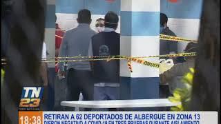 Guatemaltecos deportados por EEUU retornaron a su lugar de origen tras permanecer en albergue