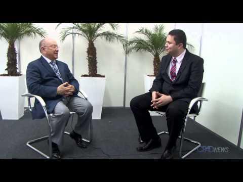 Entrevista do Pr. José Wellington apos sua reeleição a frente da Assembleia de Deus