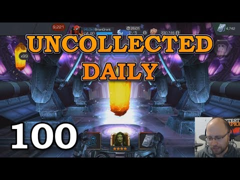 connectYoutube - 100 Uncollected Daily Crystals   Marvel Contest of Champions