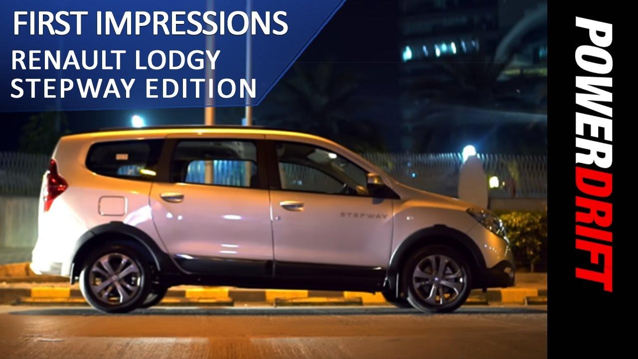 Renault Lodgy Stepway (2017) Night Drive : PowerDrift