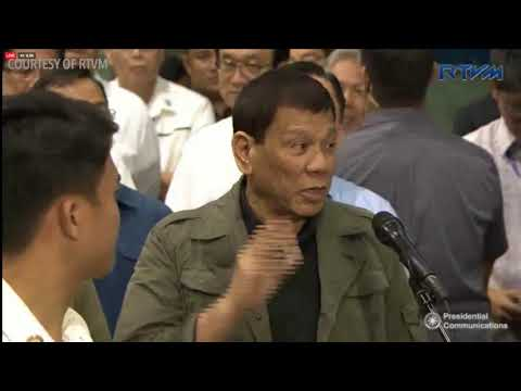 Duterte to media: Criticize 'with moderation'