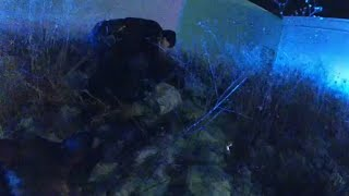 Body camera video of pursuit suspect taken into custody | FOX6 News Milwaukee
