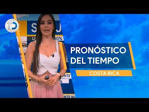 Pronóstico del tiempo Costa Rica 7 de octubre