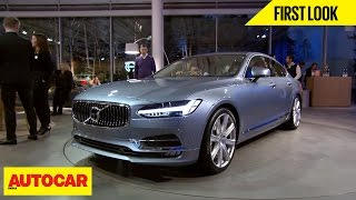 Volvo S90 | First Look | Autocar India