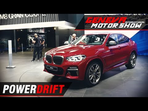 BMW X4 - Best of both worlds : Geneva Motor Show 2018 : PowerDrift