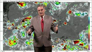El Tiempo en el Caribe | Válido 5 de julio de 2020 - Pronóstico Dr. José Rubiera