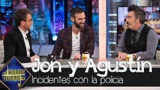 Agustín Jiménez confiesa su extraño incidente con la Policía por su porra - El Hormiguero 3.0
