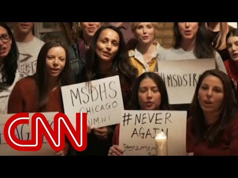 connectYoutube - Alumni to shooting survivors: We are with you