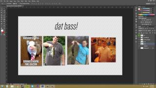 Photoshop CS6 Tutorial - 54 - How to Easily Combine Layers