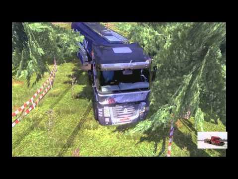 Euro 2 #7 drifting link truck simulator download winter mod