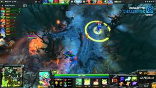 Team Tinker vs SS Game 1 - GIGABYTE Challenge - @DotaCapitalist