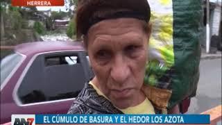 Cañada afecta residentes en Herrera