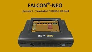Falcon-NEO Thunderbolt 3/USB-C I/Oカードの取付け方