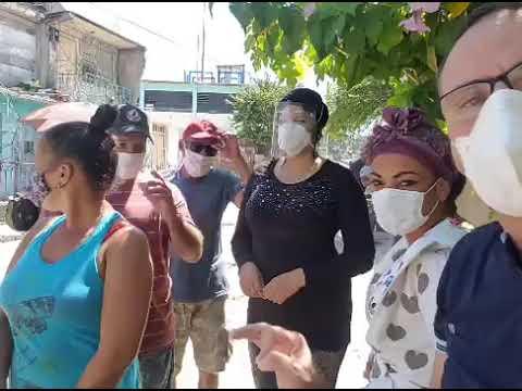 Homenaje público a Orlando Zapata. Patria y Vida.