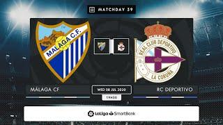 Málaga CF - RC Deportivo MD39 X1930