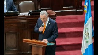 Congreso conmemora la Constitución Política de Guatemala