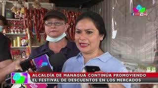 Alcaldía de Managua continúa promoviendo en Festival de Descuentos en los mercados