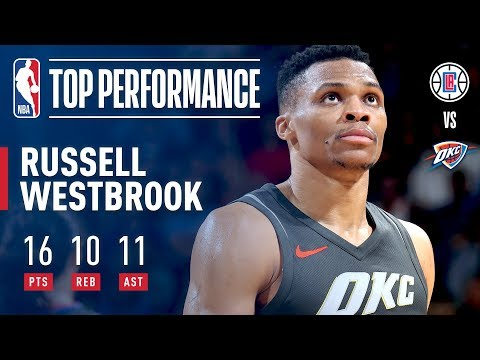 connectYoutube - Mr. Triple Double Strikes Again vs The Clippers!