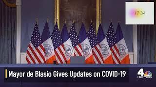 NYC Mayor De Blasio Updates on Coronavirus Response