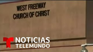 Sangriento tiroteo en una iglesia de Texas