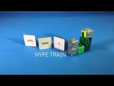 Cubelets Robot: Hype Train