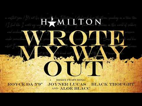 connectYoutube - Hamilton - Wrote My Way Out Remix (featuring Royce Da 5'9