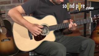 Collings OM2H Cutaway Acoustic Guitar played by Keith Ganz