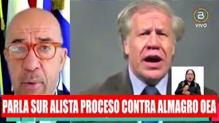 Parla Sur Alista proceso contra Luis Almagro OEA por los hechos y el Golde en Bolivia ????