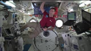 Station Crew Member Discusses Life in Space with French Media